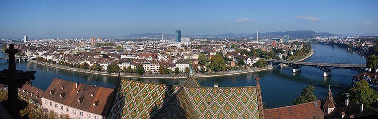 basel panorama- Switzerland