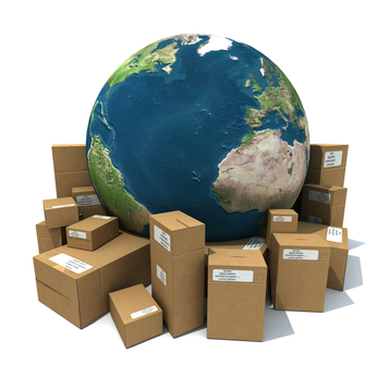 SDC International Shipping | 3D Globe