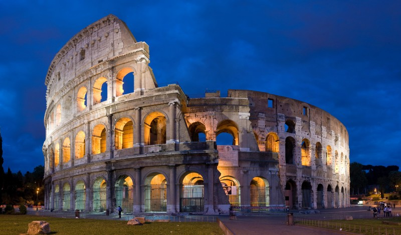 International Moving Company Ithaca | Italy Colosseum